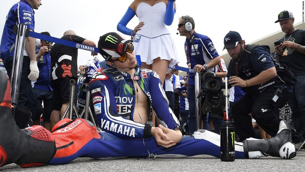 Jorge Lorenzo ran Marquez to the wire last season, eventually having to settle for second place overall. The two-time world champion has endured a testing start to 2014, crashing in Qatar and finishing 10th in the U.S. after a drive-through penalty.