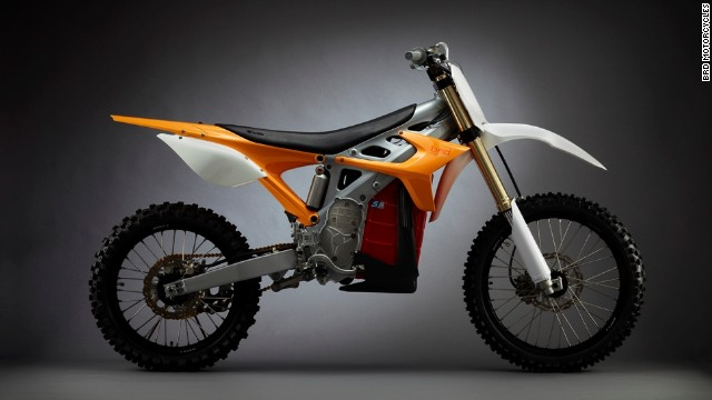 The U.S. military's stealth dirt bike