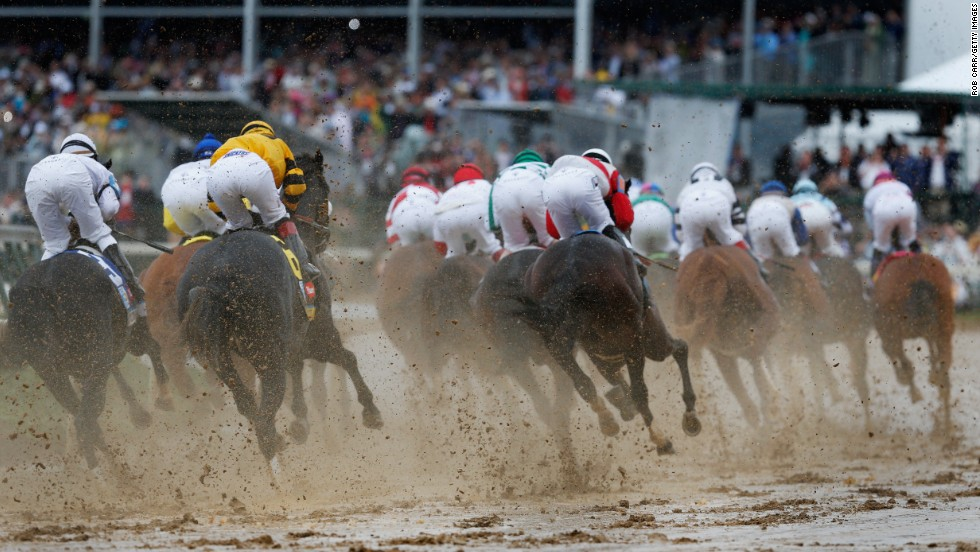 This year's favorite when they enter the first turn is California Chrome, a horse that cost its owners a mere $10,000 to breed.