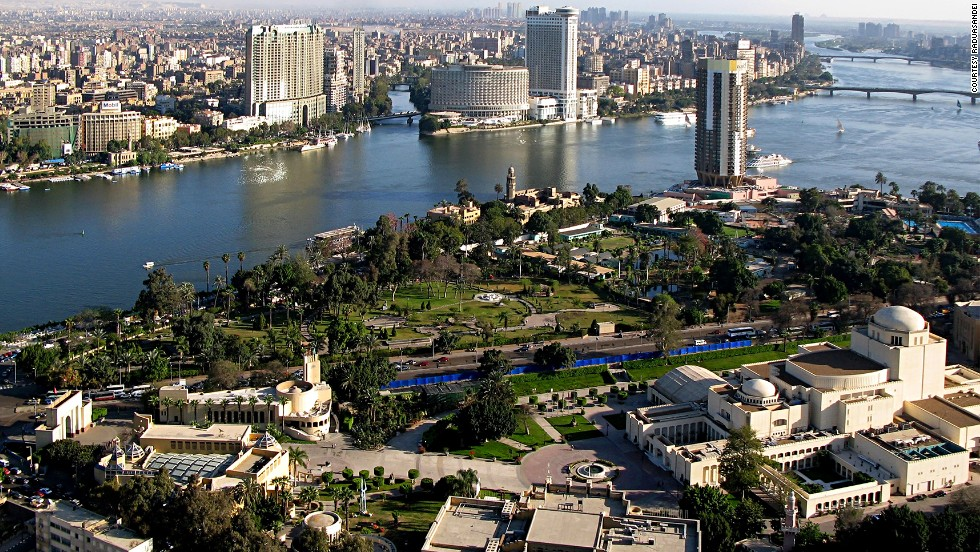 Located on Gezira Island in the middle of the Nile, the Cairo Tower was opened in 1961. A 2009 makeover added elevators, restaurants (one of them revolving) and other facilities.