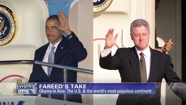 Fareed Zakaria: U.S strategy in Asia
