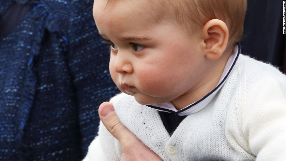 Those eyes, those chubby cheeks -- Prince George of Cambridge made quite an impression during his first official trip overseas, a three-week tour of Australia and New Zealand.