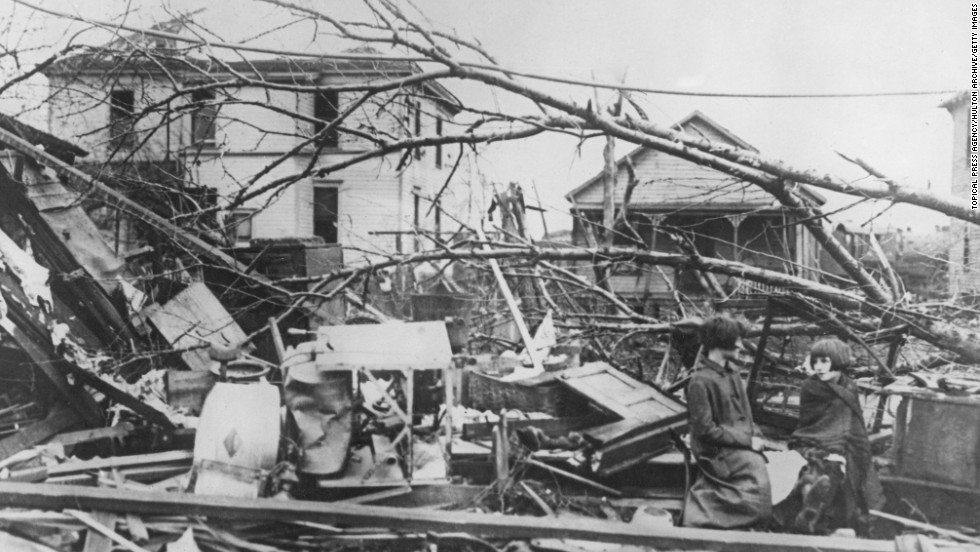"<strong>1.</strong>The ""Tri-State Tornado,"" which killed 695 people and injured 2,027, was the deadliest tornado in U.S. history, according to the National Oceanic and Atmospheric Administration. The tornado traveled more than 300 miles through Missouri, Illinois and Indiana on March 18, 1925, and was rated an F5, the most powerful under old Fujita scale (winds of 260-plus mph)."
