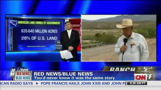 Red news/Blue news: Cliven Bundy