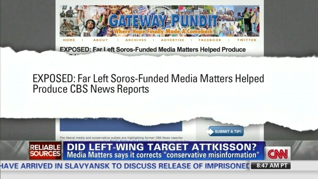 Was ex-CBS reporter targeted?
