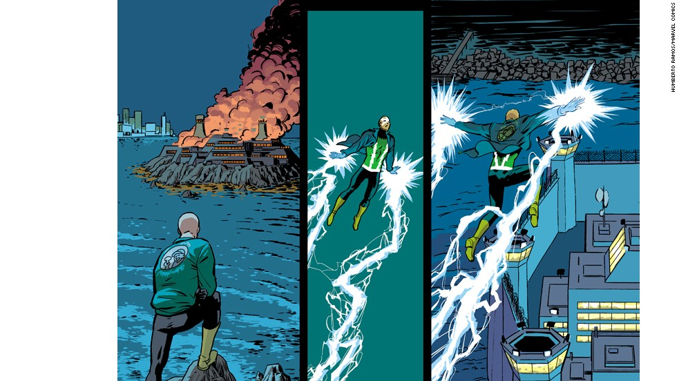 """Electro is back to cause trouble for the returned Peter Parker in """"Amazing Spider-Man"""" #1."""