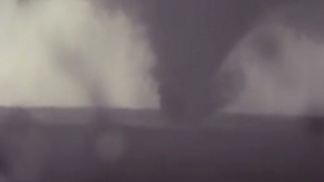 News chopper captures tornado touchdown