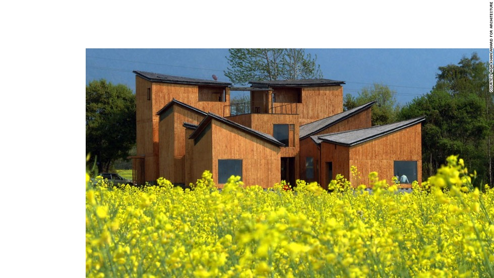 The Museum of Handcraft Paper in a remote part of Yunan Province resembles a micro-village. The complex is made of several asymmetrical structures and was designed by Beijing-based Trace Architecture Office.