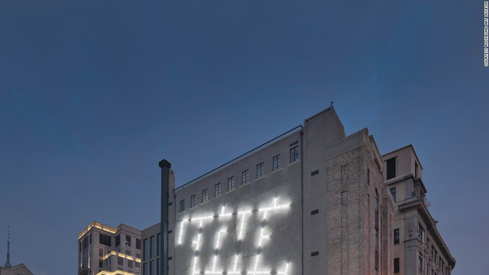 The Rockbund Museum in Shanghai is based in a 1932 building that features Chinese and Western Art Deco elements. It has been restored by British architect David Chipperfield and is now one of the most notable new venues to see Chinese and international contemporary art.