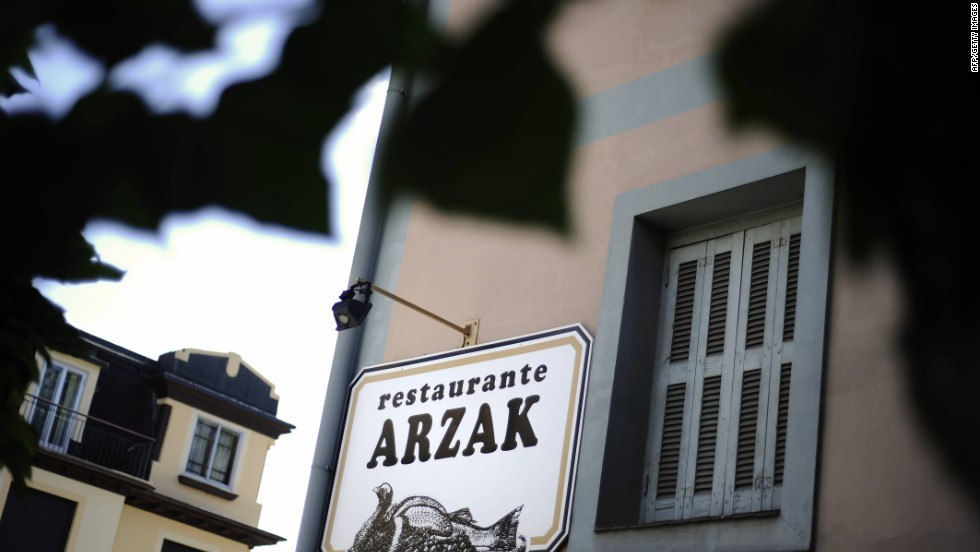 The second San Sebastian restaurant to make the list, Arzak serves classic Basque dishes with random surprises.