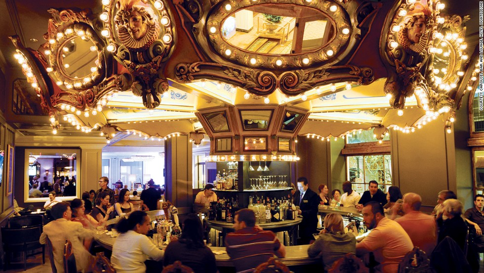 The merry-go-round bar here was a favorite of William Faulkner and Truman Capote. It's been mentioned in works by Tennessee Williams, Eudora Welty and Ernest Hemingway.