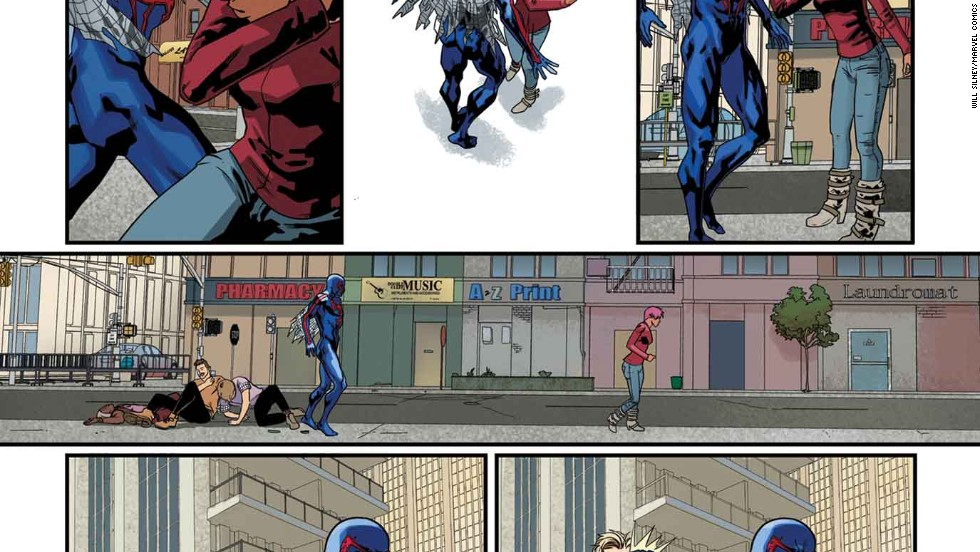 "One more look at the ""Spider-Man 2099"" story in ""Amazing Spider-Man"" #1."