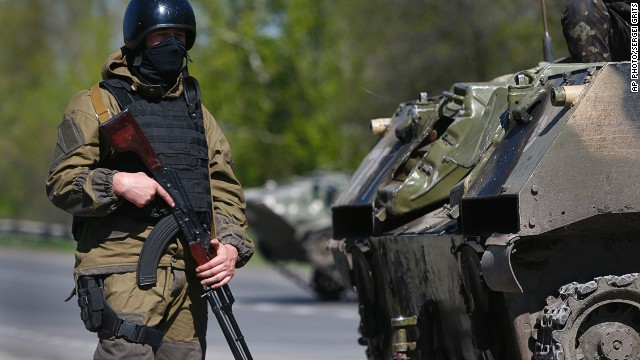 'Chaotic' situation unfolding in Ukraine