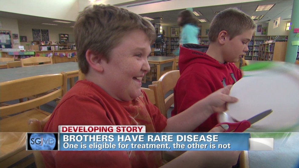 Two brothers battle one fatal disease
