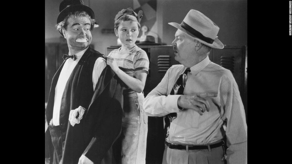 "From left, Red Skelton, Loring Smith and Tim Considine in ""The Clown"" in 1953. Skelton was a radio and television comedian and best known for his  television show ""The Red Skelton Show."" His father was a circus clown who died two months before he was born. Skelton delighted audiences as the sentimental clown for 20 years. He even produced dozens of clown paintings."