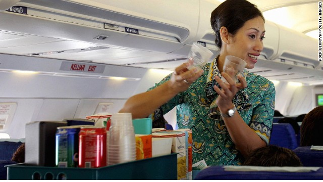 Umami-rich foods fare best in flight. Another tomato juice, sir?