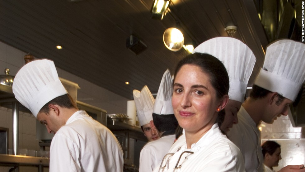 8. Fourth generation chef Elena Arzak cooks at her father Juan Mari Arzak's eponymous Arzak in San Sebastian. It takes the eighth highest spot for the second year in a row.