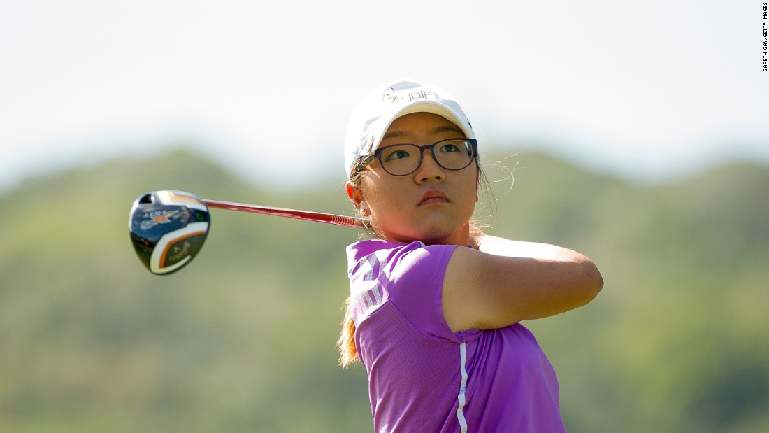 Golf's golden girl climbed to a world ranking of No. 1 when she was only 17 -- four years younger than Tiger Woods when he claimed the top spot for the first time.