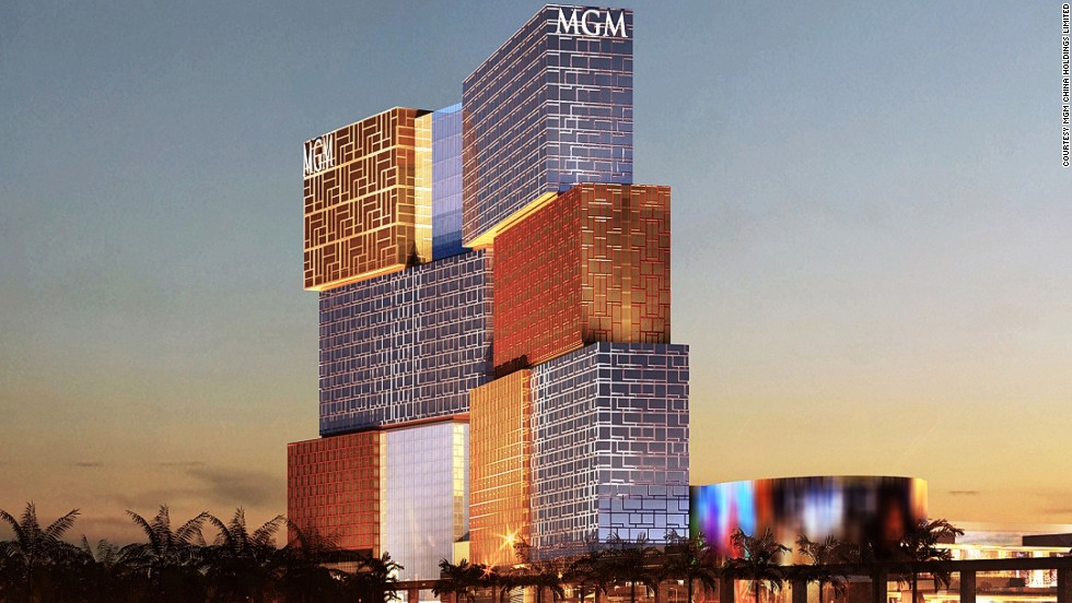 "<strong>MGM Cotai, MacauArchitect: </strong>Kohn Pedersen Fox<br /><strong>Status: </strong>Opened in 2016<br /><strong>Rooms: </strong>1,600<strong><br />Fast fact: </strong>MGM Cotai will feature 500 gambling tables and 2,500 slot machines. It will also include the ultra-luxurious and invitation-only resort villas, ""The Mansion,"" same as the MGM Grand in Las Vegas. <br /><em><a href=""http://c585941.r41.cf2.rackcdn.com/Press_Release_Celebrating_a_New_Beginning_MGM_COTAI.pdf"" target=""_blank"">MGM Cotai</em></a><em>, Cotai Strip, Macau</em>"