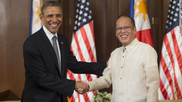 Was China target of U.S.-Philippines pact?