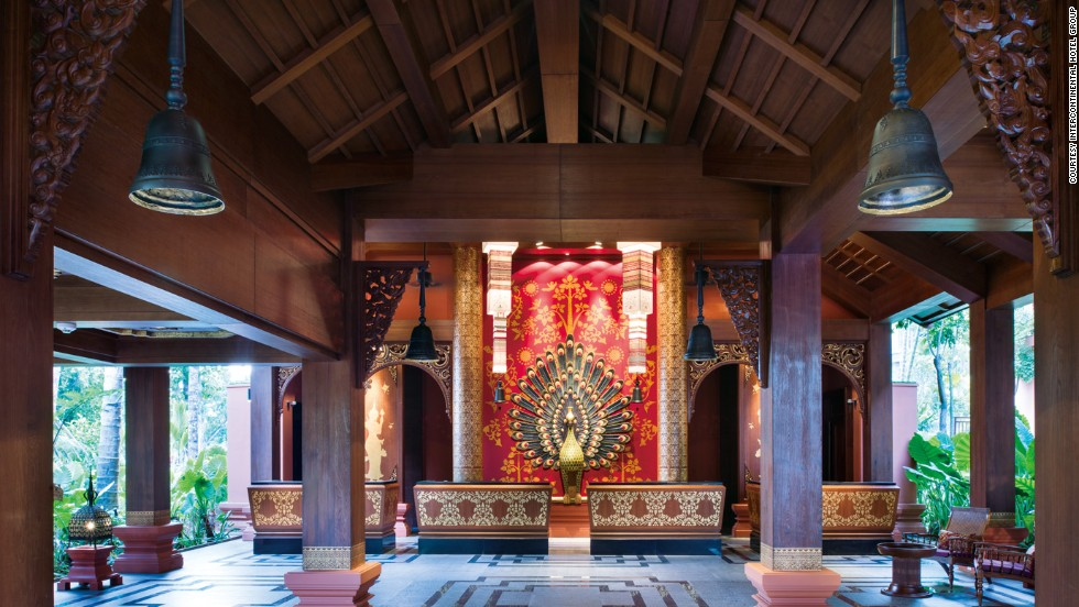 "<strong>Crowne Plaza Resort Xishuangbanna, Yunnan</strong><br /><strong>Architect: </strong>P49Deesign; Peridian International, Inc. (Landscape)<strong><br />Status: </strong>Opened in 2013<strong><br />Rooms: </strong>520<br /><strong>Fast fact: </strong>In keeping with its Dai theme (an ethnic group living in the area), the hotel has its own functioning temple. A monk is invited to sit at the temple every Wednesday and Friday from 3-5 p.m. for a chat with guests.<a href=""http://www.ihg.com/crowneplaza/hotels/us/en/jing-hong/jhgxa/hoteldetail"" target=""_blank""><em><br />Crowne Plaza Resort Xishuangbanna<em></em></a>, Mannongfeng District, 2nd Phase, Tourism Area of Xishuangbanna, Jinghong, Yunnan Province; +86 691 272 8888</em>"