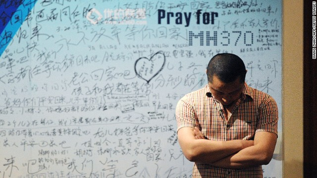 MH370 partner: I hope it's not the plane