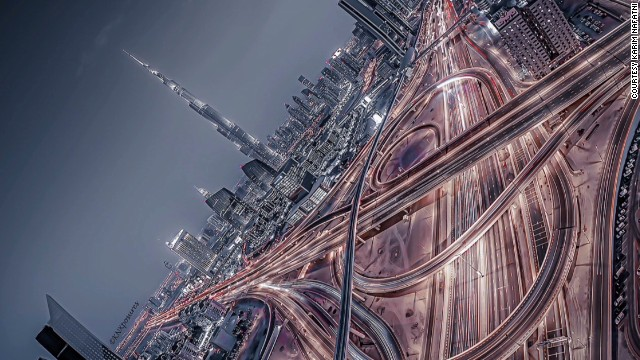 Pilot's stunning images of Dubai