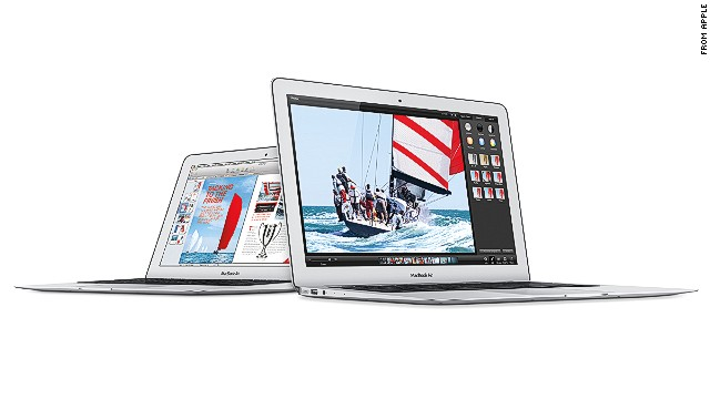 Apple's smallest new MacBook Air notebook starts at $899, a $100 price cut from the last model.