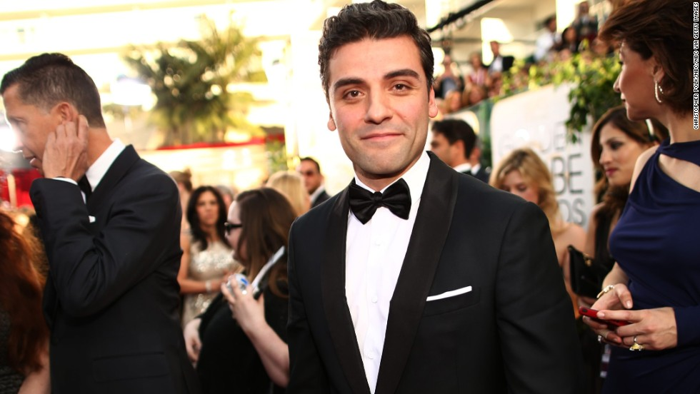 "Oscar Isaac had a breakthrough role in 2013 as the cranky singer-songwriter Llewyn Davis in the drama ""Inside Llewyn Davis."" We can't imagine his work in ""The Force Awakens"" will require him to sing, but it would be awesome if it did; Isaac has proved he's got a great set of pipes."