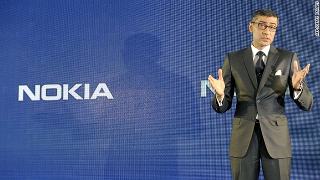The designated President and Chief Executive Officer of Finnish telecom giant Nokia Indian Rajeev Suri speaks during the press conference announcing the company's first quarter results in Espoo, Finland on April 29, 2014. Nokia announced a revenue in the green in the first quarter with a net profit of 108 million euros. AFP PHOTO / Lehtikuva/ HEIKKI SAUKKOMAA FINLAND OUTHEIKKI SAUKKOMAA/AFP/Getty Images