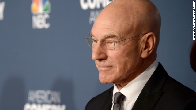 "Patrick Stewart will star in a new Seth MacFarlane comedy called ""Blunt Talk."""