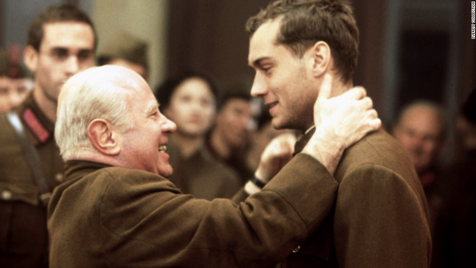 "Hoskins is Nikita Khrushchev in 2001's<strong> ""Enemy at the Gates.""</strong> Jude Law plays a Soviet soldier during the siege of Stalingrad."