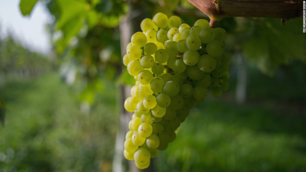 Grapes came in at No. 6. A single grape sample contained 15 pesticides, according to EWG.