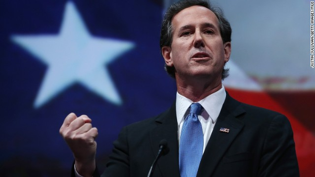 Former GOP Sen. Rick Santorum is doing a lot political work away from public view.