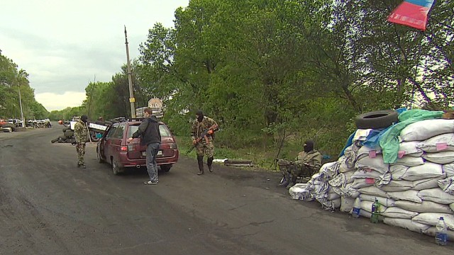 Fear reigns along Ukrainian roads