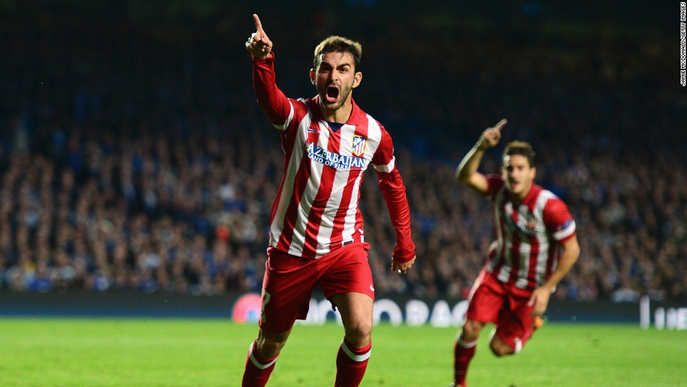 Atletico pulled level with just a minute of normal time remaining when Adrian Lopez netted following good work by Juanfran.
