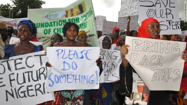 Nigerians protest, demand gov't action