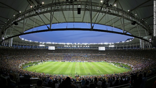 Rio's Maracana: The World Cup finish line