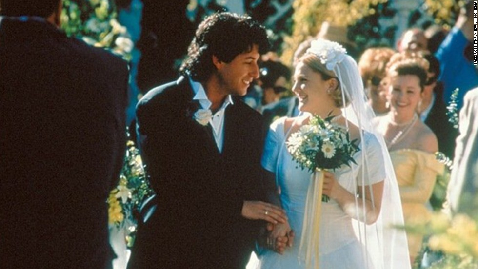 "<strong>""The Wedding Singer"":</strong> When's a horrible time to meet your soul mate? When you're about to get married to someone else. In this 1998 comedy, Adam Sandler plays a wedding singer with a star-crossed crush on a bride-to-be (Drew Barrymore)."