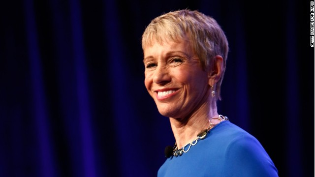 Barbara Corcoran speaks on stage at NAPW 2014 Conference on April 25, 2014 in New York City.