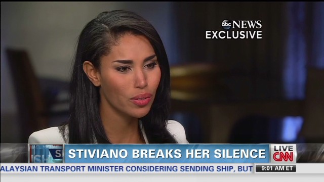 Sterling's alleged mistress speaks out