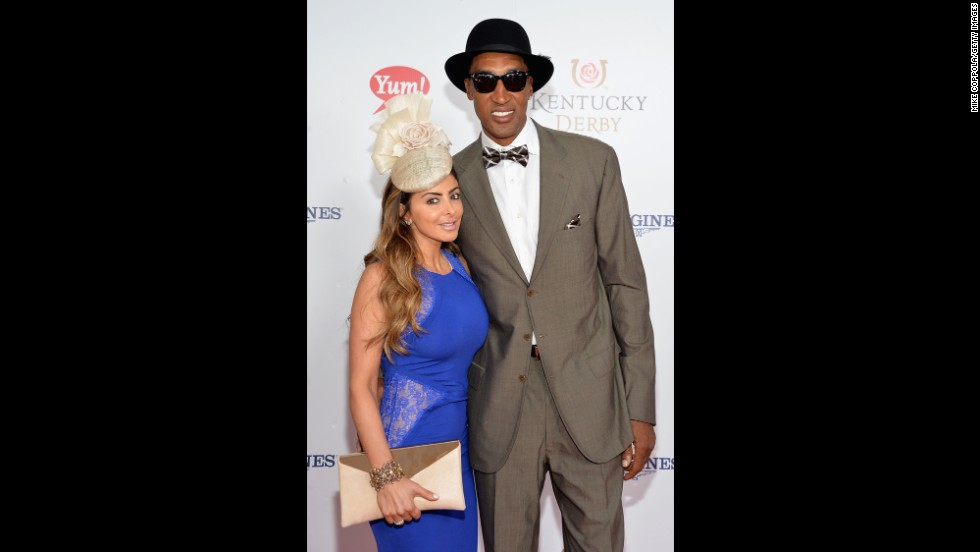 Larsa and Scottie Pippen