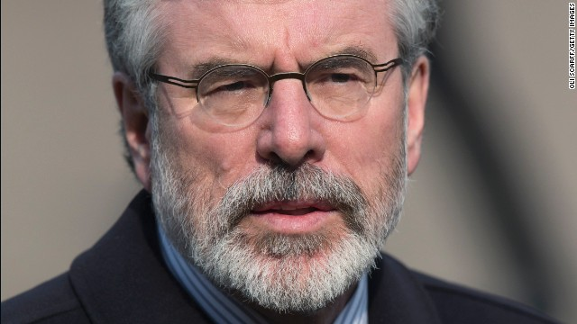 Gerry Adams denies any role in the death of Jean McConville, a widow who was reportedly killed by the IRA decades ago.
