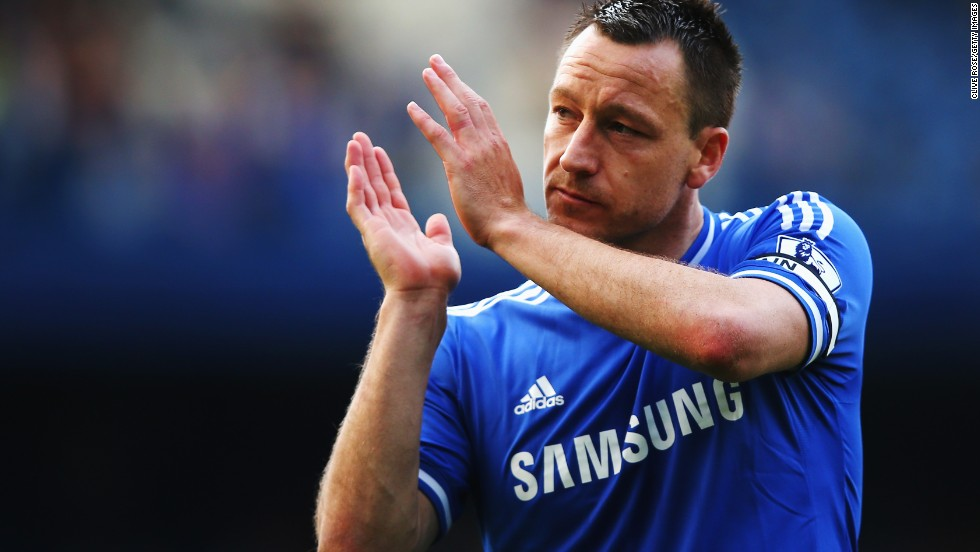 Chelsea captain John Terry applauds his home fans but the 0-0 home draw against Norwich was a blow to their title hopes.