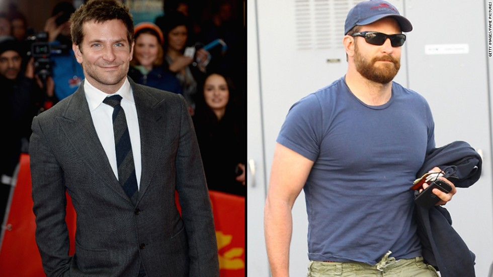 "Bradley Cooper has packed on muscle (and quite the beard) since we saw him in March. The speculation is that Cooper's drastic physical transformation is for his role in 2015's ""American Sniper,"" in which he will play Navy SEAL Chris Kyle."