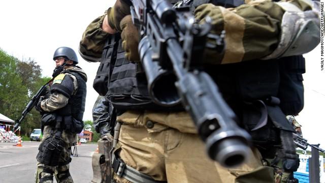 Heavy clashes reported in Ukraine