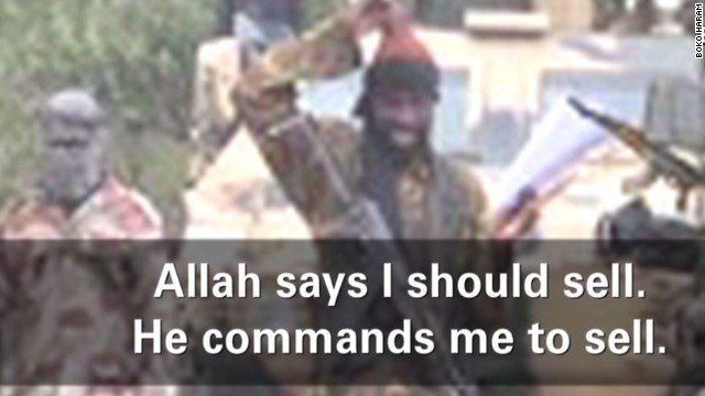 Kidnapper: Allah says to sell girls