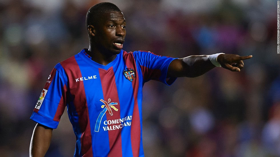 Last Sunday, Levante's Papakouli Diop became the latest player to complain of racist abuse in a Spanish football stadium. The Senegalese claimed he was subjected to racist chants during Levante's win over Atletico Madrid. He responded by dancing in front of his alleged abusers.