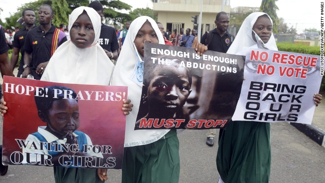 Anger grows over 200 missing girls