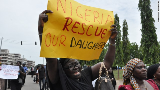 What's being done to save the Nigerian girls?